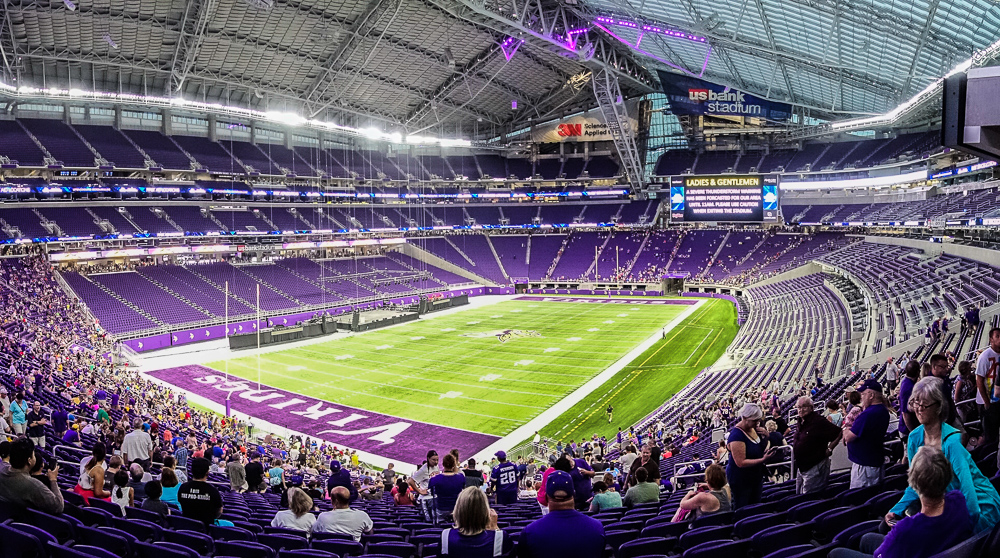 Billion-dollar stadium - inside