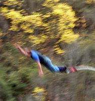 Terry's bungee jump in NZ